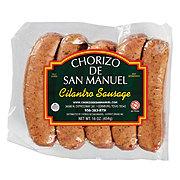 Chorizo De San Manuel Cilantro Sausage Links