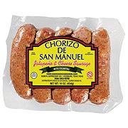 Chorizo De San Manuel Jalapeno & Cheese Sausage Link