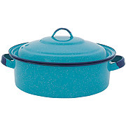 Cinsa 5 Quart Turquoise Dutch Oven with Lid