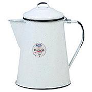 Cinsa 8 Cup Coffee Pot Speckled White