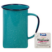 Cinsa Tall Mug Turquoise