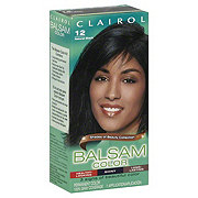 Clairol Balsam Color Shades of Beauty Collection 12 Natural Black Permanent Color