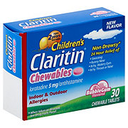 Claritin Children's Bubblegum Chewable Tablets