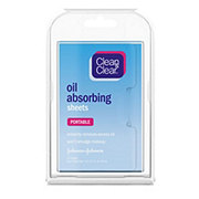 Clean & Clear Portable Oil Absorbing Sheets