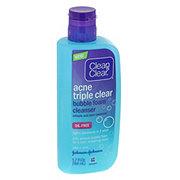 Clean & Clear Triple Clear Acne Foam Cleanser