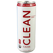 Clean Cause Blackberry Pomegranate Energy Drink