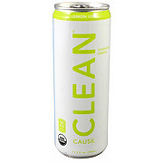 Clean Cause Lemon Lime Energy Drink