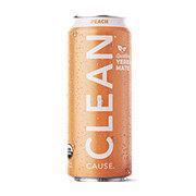 Clean Cause Yerba Mate Peach Tea