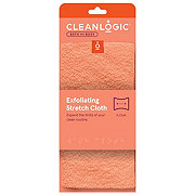 Cleanlogic Exfoliating Stretch Bath & Shower Cloth