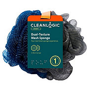 Cleanlogic Men's 2 N 1 Mesh Bath Sponge