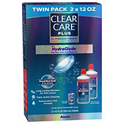 Clear Care Plus Contact Lense Care Solution Twin Pack