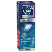 Clear Care Plus With Hydraglyde Solution
