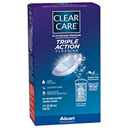 Clear Care Triple Action Cleaning  Disinfecting Solution Travel Pack