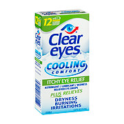 Clear Eyes Cooling Comfort Itchy Eye Drops