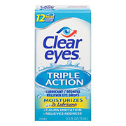 Clear Eyes Triple Action Eye Drops
