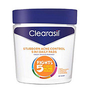 Clearasil Ultra 5 In 1 Pads Fight Acne Problems