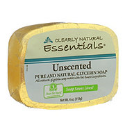 Clearly Natural Unscented Pure and Natural Glycerine Soap