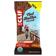 Clif Bar Nut Butter Filled Organic Chocolate Peanut Butter