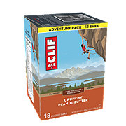 Clif Crunchy Peanut Butter Energy Bars Adventure Pack