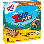 Clif Kid Organic Banana Filled With Chocolate Peanut Butter Z Bars