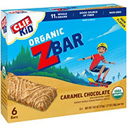 Clif Kid Organic Caramel Chocolate Z Bars