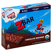 Clif Kid Organic Chocolate Brownie Z Bars