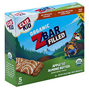 Clif Kid Organic Filled Apple Almond Butter Z Bars