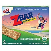 Clif Kid Organic Iced Oatmeal Cookie Z Bars