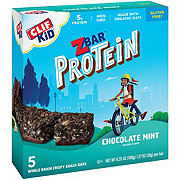 Clif Kid Z Bar Protein Chocolate Mint