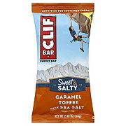 Clif Sweet & Salty Caramel Toffee with Sea Salt Energy Bar