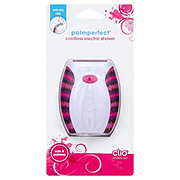 Clio PalmPerfect Cordless Electric Shaver for Women - Colors & Designs May Vary