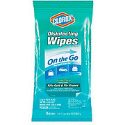 Clorox Fresh Scent Disinfecting Wipes On The Go