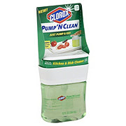 Clorox Pump N Clean Kitchen & Dish Cleaner Crisp Citrus