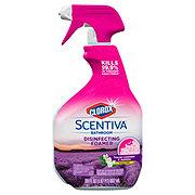Clorox Scentiva Bathroom Disinfecting Foamer Lavender & Jasmine