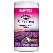 Clorox Scentiva Disinfecting Wipes Tuscan Lavender Jasmine