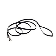Coastal Pet Products 3/8 Inch Black Nylon Lead