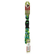 Coastal Pet Products Pet Attire Green Dots 5/8 Inch Adjustable Collar