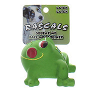 Coastal Pet Products Rascals Latex Dog Toy Frog