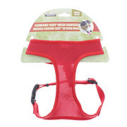 Coastal Pet Products Small Comfort Soft Adjustable Harness Red