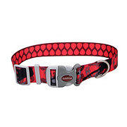 Coastal Pet Products Sublime 1 Inch Adjustable Collar with Guitar and Picks Pattern