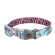 Coastal Pet Products Sublime Oriental Flowers and Branches 5/8 Inch Adjustable Collar Size Small