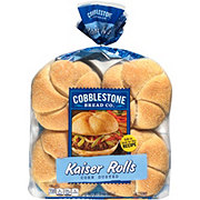 Cobblestone Bread Co. Corn Dusted Kaiser Rolls