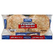 Cobblestone Bread Co. Flatbread Rounds, 100% Whole Grain