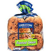 Cobblestone Bread Co. Toasted Onion Buns
