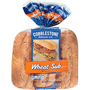 Cobblestone Bread Co. Wheat Grinder Sub Rolls