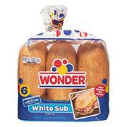 Cobblestone Bread Co. White Grinder Sub Rolls