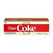 Coca-Cola Caffeine Free Diet Coke 12 oz Cans
