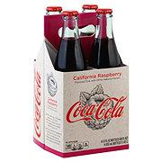 Coca-Cola California Raspberry Coke 12 oz Bottles