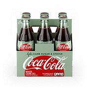 Coca-Cola Coke Life Soda 8 oz Glass Bottles