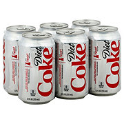 Coca-Cola Diet Coke 6 PK Cans